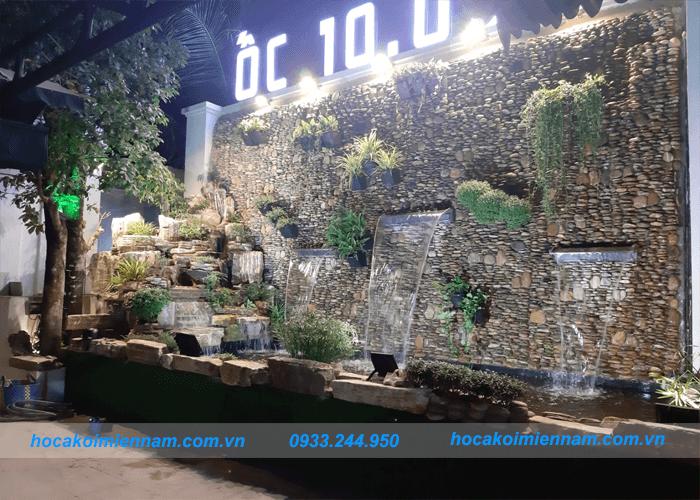 Dự án tường nước quán ốc 10k-1