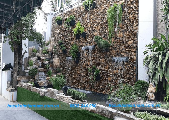 Dự án tường nước quán ốc 10k-2