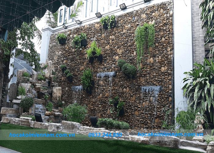 Dự án tường nước quán ốc 10k-4