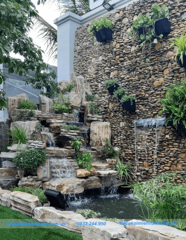 Dự án tường nước quán ốc 10k-5