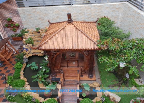 Dự án thi công sân vườn