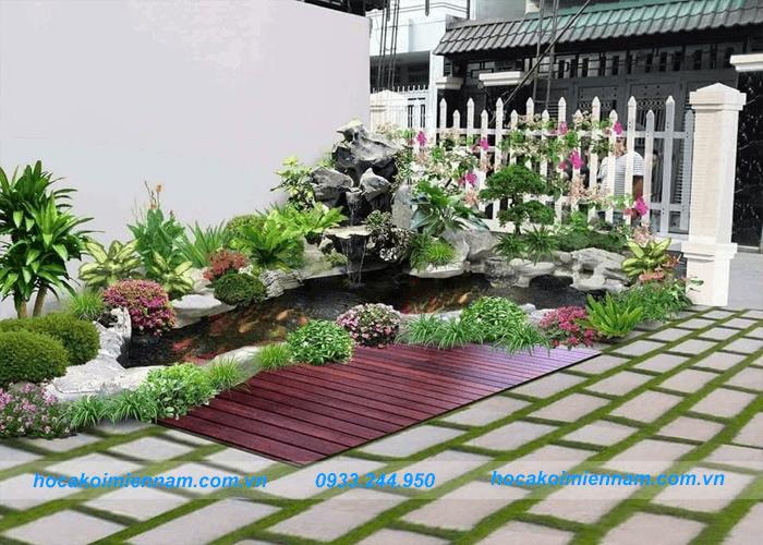 Thiết kế thi công sân vườn tiểu cảnh mini - Ảnh 2
