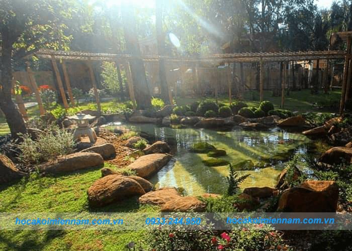 Thiết kế thi công sân vườn tiểu cảnh mini - Ảnh 4