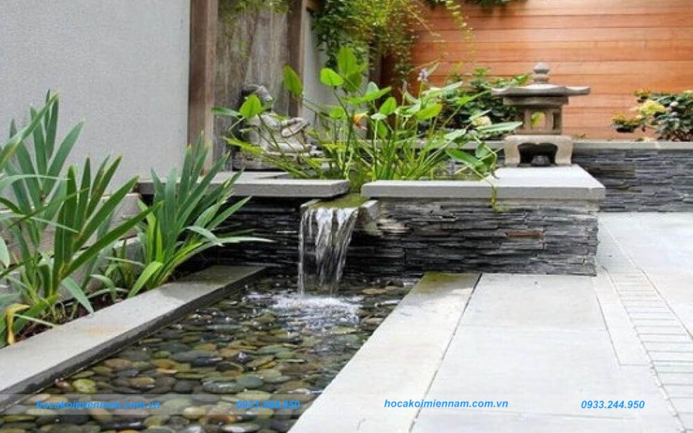 Thiết kế thi công tường thác nước đẹp tại TP.HCM. Ảnh 1