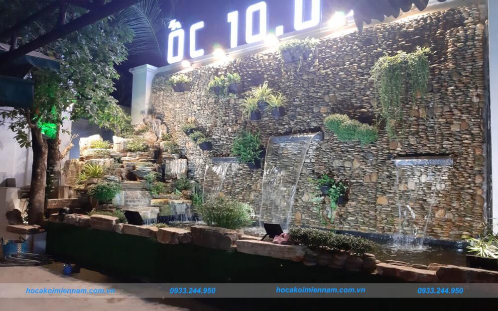 Thiết kế thi công tường thác nước đẹp tại TP.HCM. Ảnh 2