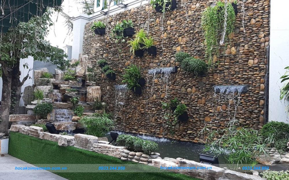 Thiết kế thi công tường thác nước đẹp tại TP.HCM