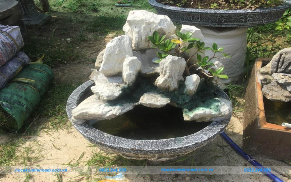 Dịch vụ thiết kế thi công hòn non bộ tại Tây Ninh