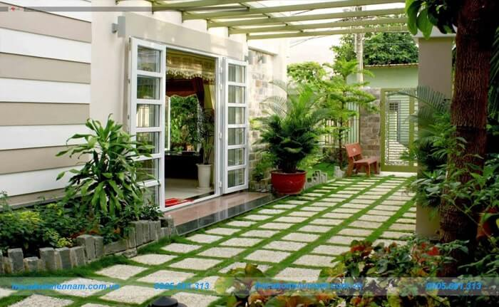 Công ty thiết kế thi công sân vườn tại Gia Lai - 2
