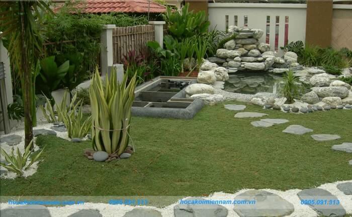 Công ty thiết kế thi công sân vườn tại Gia Lai - 3