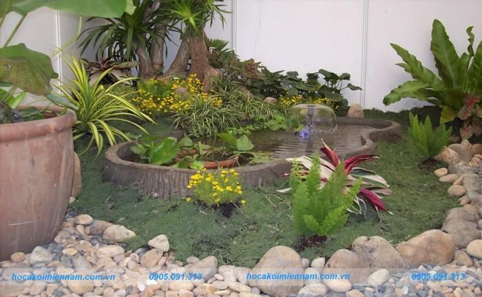 Công ty thiết kế thi công sân vườn tại Gia Lai - 4