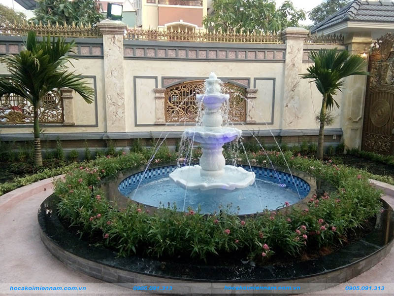 Thiết kế thi công đài phun nước