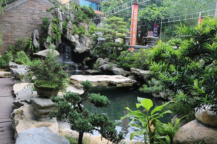 Hòn non bộ thác nước đẹp 7