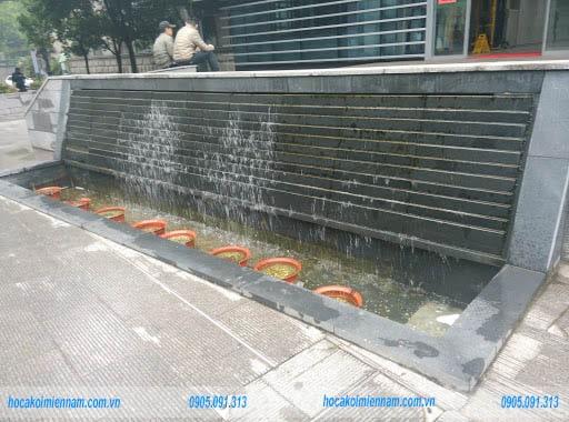 Thiết kế thi công tường nước tại Bình Dương