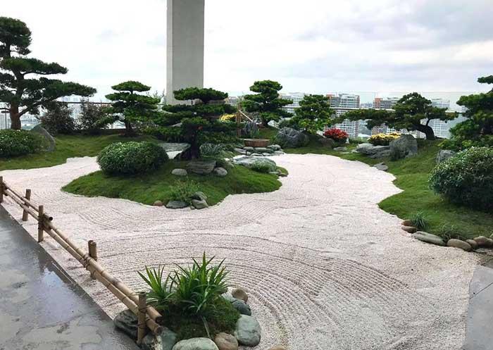 Tiểu cảnh sân vườn penthouse - m1