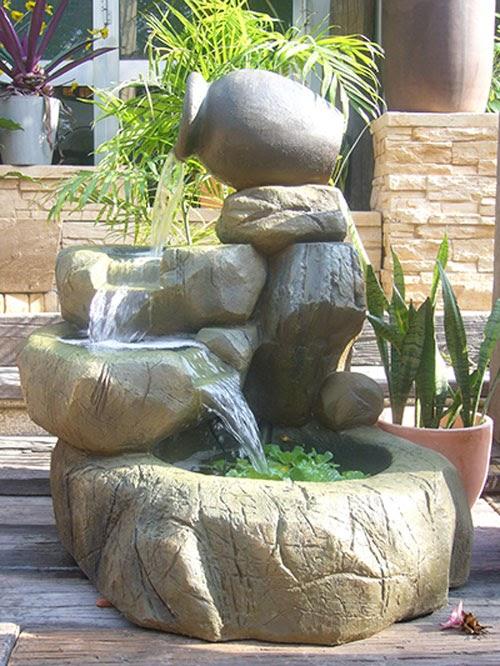 Tiểu cảnh thác nước mini - Hình 3