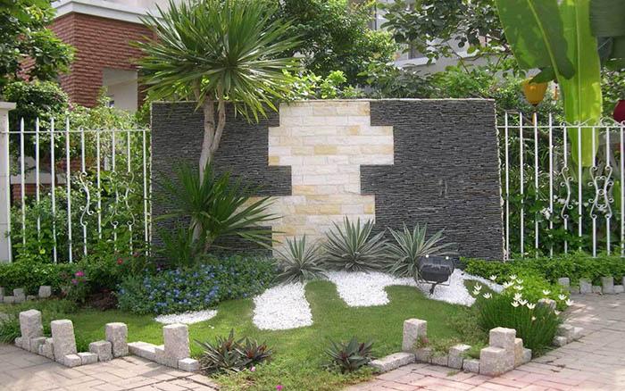 Tiểu cảnh sân vườn đẹp - Hình 11