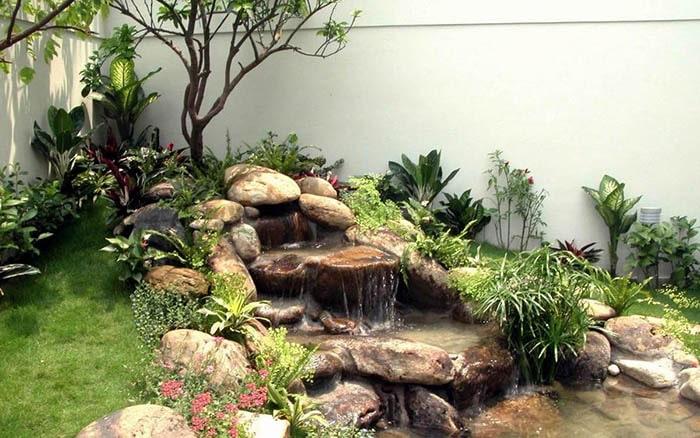 Tiểu cảnh sân vườn đẹp - Hình 12