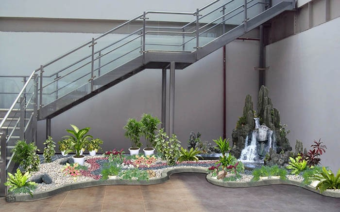 Tiểu cảnh sân vườn đẹp - Hình 15