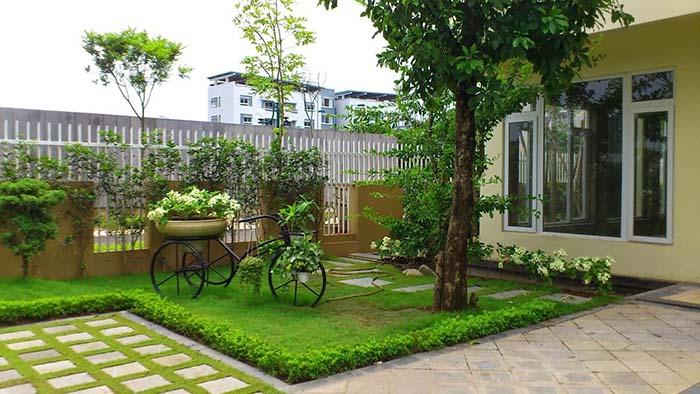 Tiểu cảnh sân vườn đẹp - Hình 2