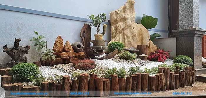 Tiểu cảnh sân vườn tại Đắk Lắk