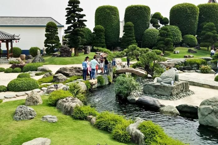 Công viên đá - vườn Nhật Bản Rin Rin Park
