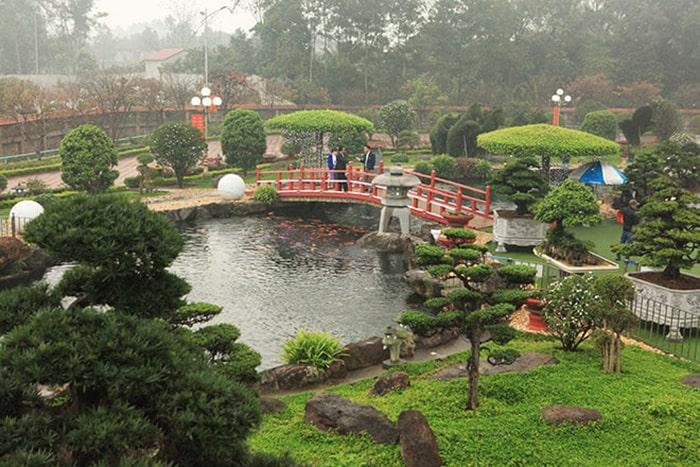 Hồ cá koi Nhật Bản Thái Nguyên
