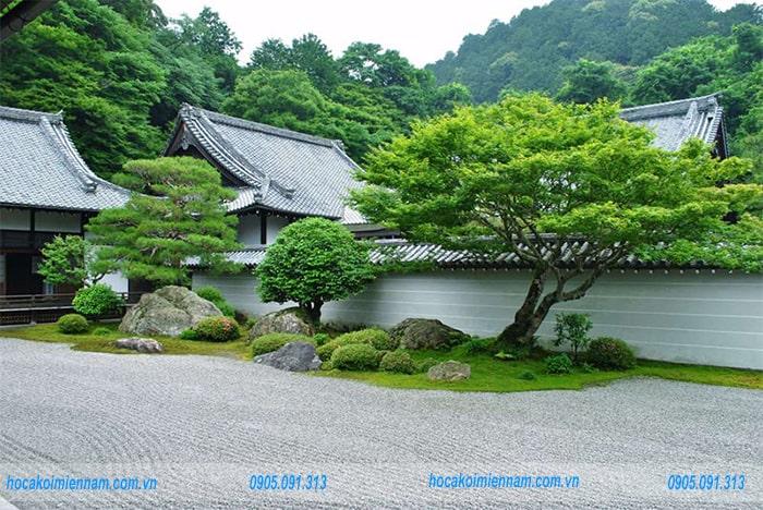 Sân vườn Nhật Bản M01