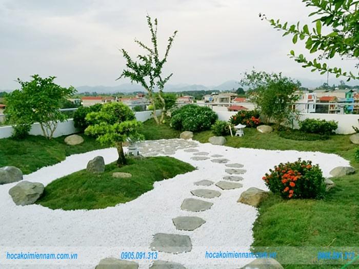 Sân vườn Nhật Bản M03
