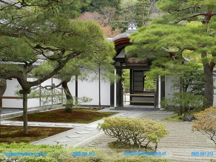 Sân vườn Nhật Bản M04