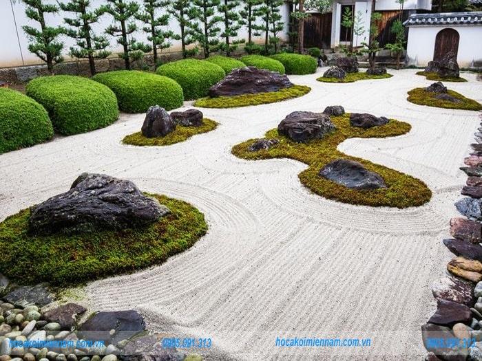 Sân vườn Nhật Bản M05