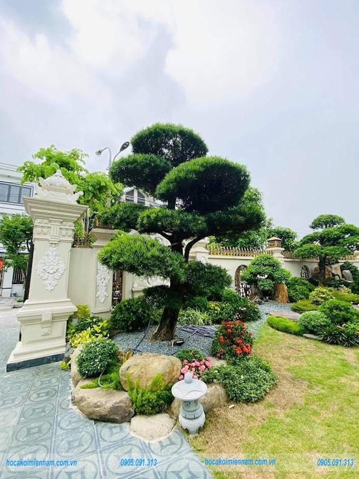 Sân vườn Nhật Bản biệt thự M03