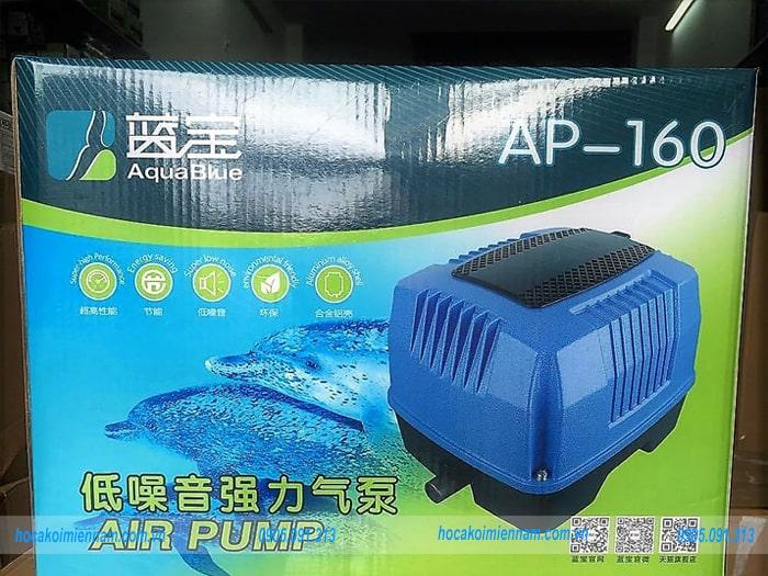 Máy sục khí oxy hồ cá Aqua Blue