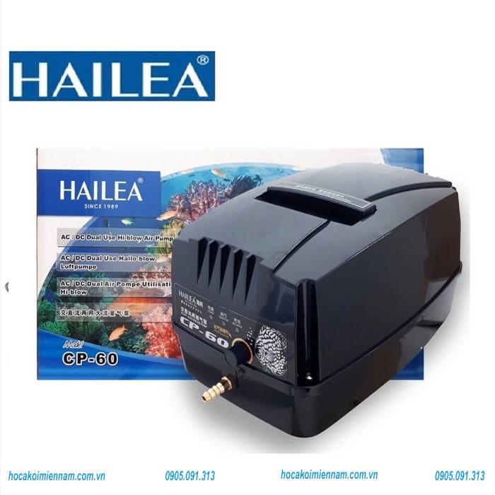 Máy sục oxy tích điện hồ cá koi Hailea
